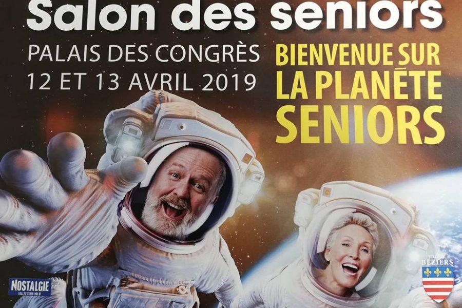 Salon des seniors 12 et 13 avril Béziers